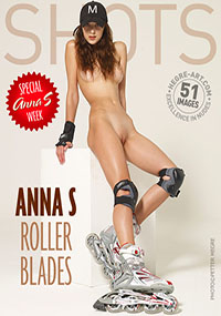 Anna S Roller Blades - Sexy Anna wants you to come for a ride.