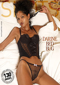 Darine – Midnight Romance - Black lace and white satin sheets; add Darine to the mix and you've got perfection!